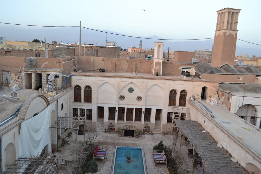 Alan Cordova 2014_Courtyard of the Ehsan Guest House_Kashan_Iran